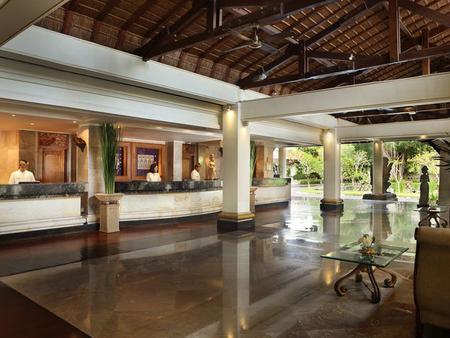 Nusa Dua Beach Hotel & Spa - South Kuta - Vastaanotto