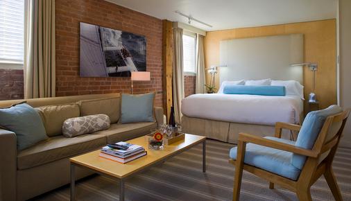 米爾街酒店 - 紐波特 - 紐波特 - 臥室