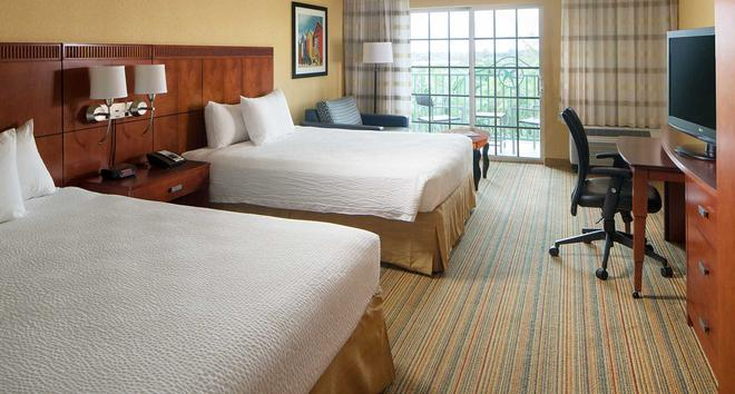Courtyard by Marriott Fort Lauderdale Airport & Cruise Port - Dania Beach - Makuuhuone