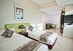 The Exchange Regency Residence Hotel - Manila - Makuuhuone