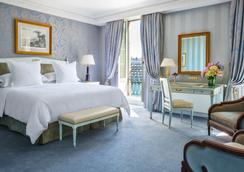 Four Seasons Hotel des Bergues Geneva - Geneva - Bedroom