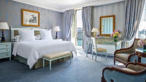 Four Seasons Hotel des Bergues Geneva - Geneva - Bedroom