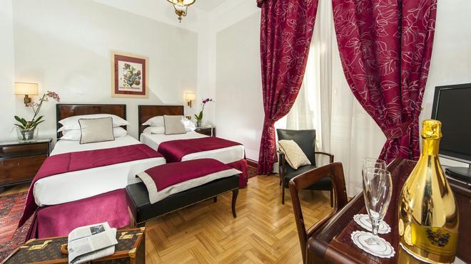 羅馬諾德諾瓦飯店 - 羅馬 - 臥室