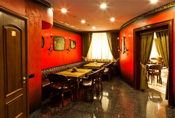 Grand Hall Hotel - Jekaterinburg - Ravintola