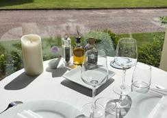 城堡連鎖陶瓷與水療莊園酒店 - 克里凱波伊夫 - 翁弗勒爾 - 餐廳