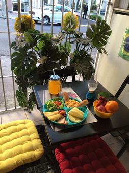 FRIENDS Hostel - Sao Paulo - Dining room