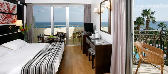 Lordos Beach Hotel - Larnaka - Makuuhuone