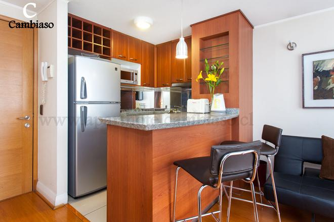 Apart Hotel Cambiaso - Santiago - Kitchen