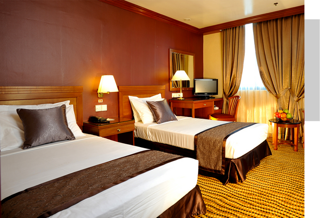 Oxford Hotel - Singapore - Bedroom