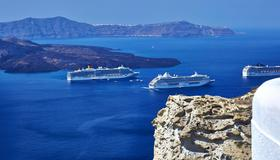 Volcano View Hotel Santorini - Fira - Extérieur