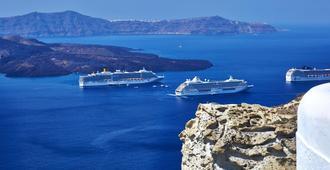 Volcano View Hotel Santorini - פירה - נוף חיצוני