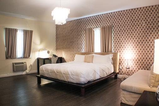 The New Hotel Miami - Miami Beach - Schlafzimmer