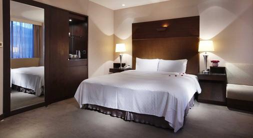 Hotel HD Palace - Taipei - Bedroom