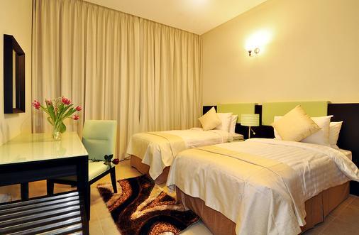 Pride Hotel Apartments - Dubai - Bedroom