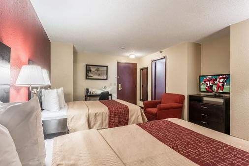 Red Roof Inn St Petersburg - Clearwater/Airport - Clearwater - Phòng ngủ