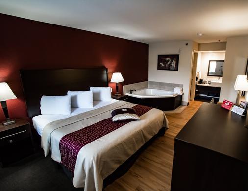 Red Roof Inn Helen - Helen - Bedroom