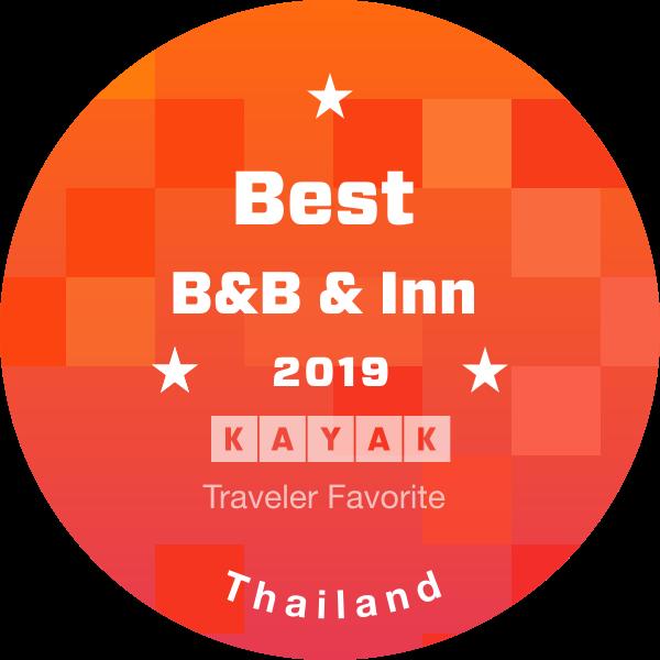 KAYAK traveler award 2019 - Best B&B Inn Resort Hotel