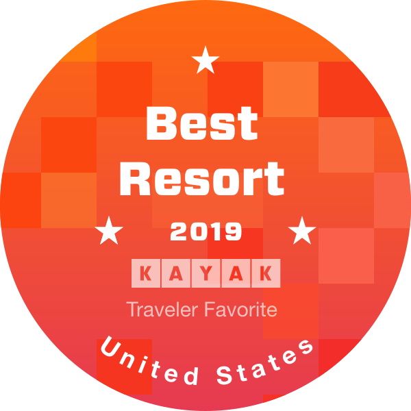 Rated as the Best Resort 2019 in Kayak